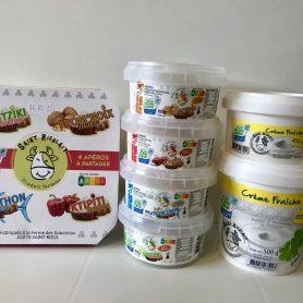 Crèmes fraîches et tartinades