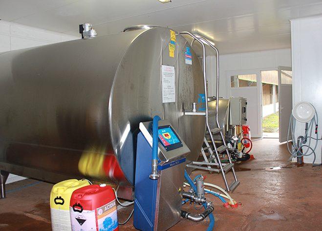 Le Tank a lait du Gaec des Gaboriaux